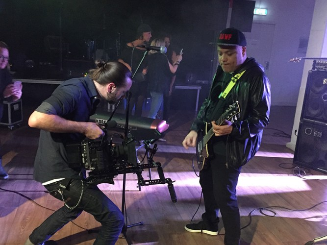 Paulo Mendonca U got 2 believe MV shoot