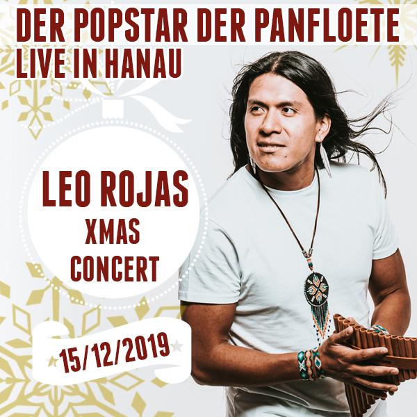 Leo Rojas Weihnachten Konzert 2019 Hanau Live