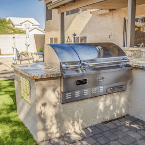 Louisiana Grills Built-In Pellet Smoker