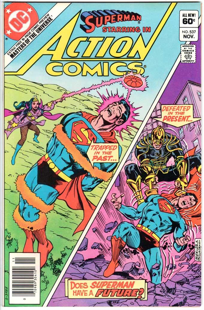 Action Comics (1938) #537 MJ
