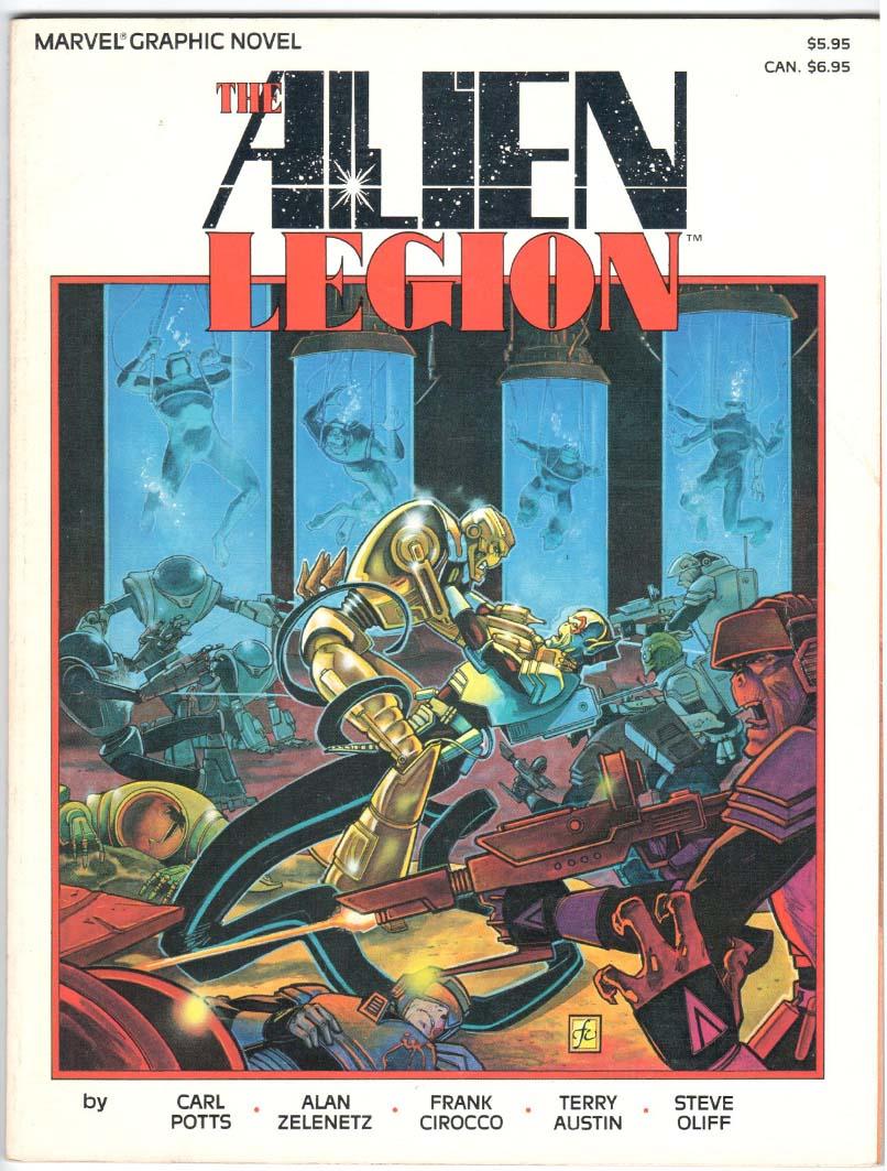 Alien Legion: A Grey Day GN (1986) #1