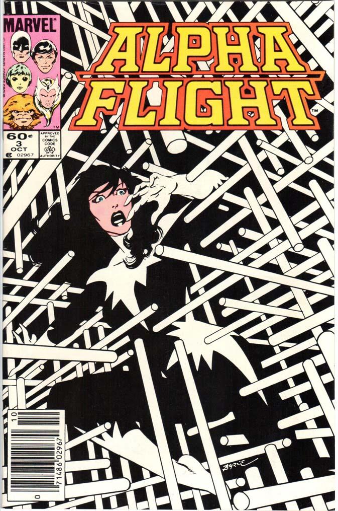 Alpha Flight (1983) #3 MJ