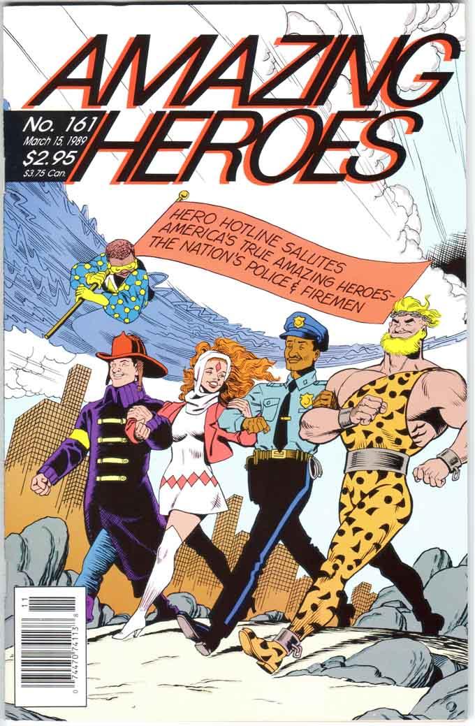 Amazing Heroes (1981) #161