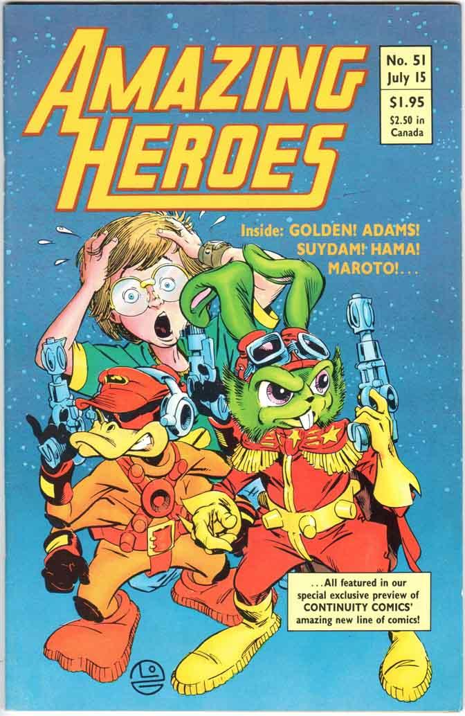 Amazing Heroes (1981) #51