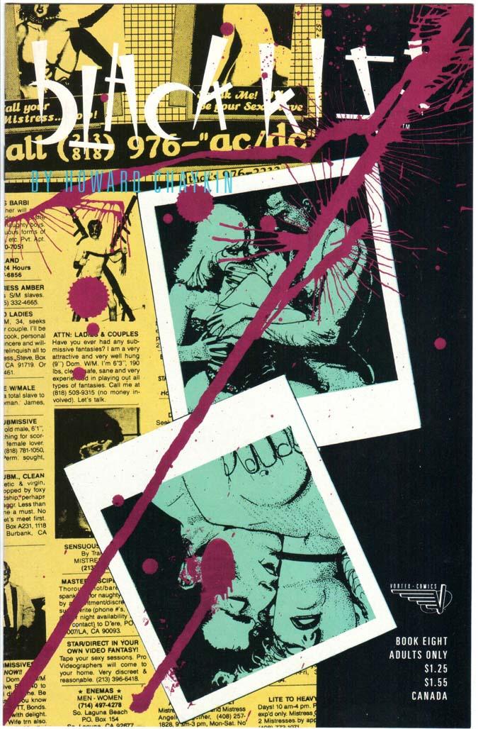 Black Kiss (1988) #8