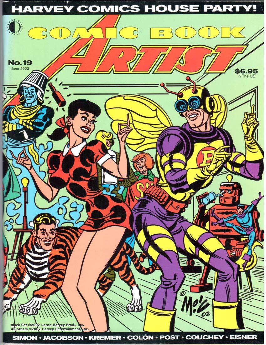 Comic Book Artist (1998) #19