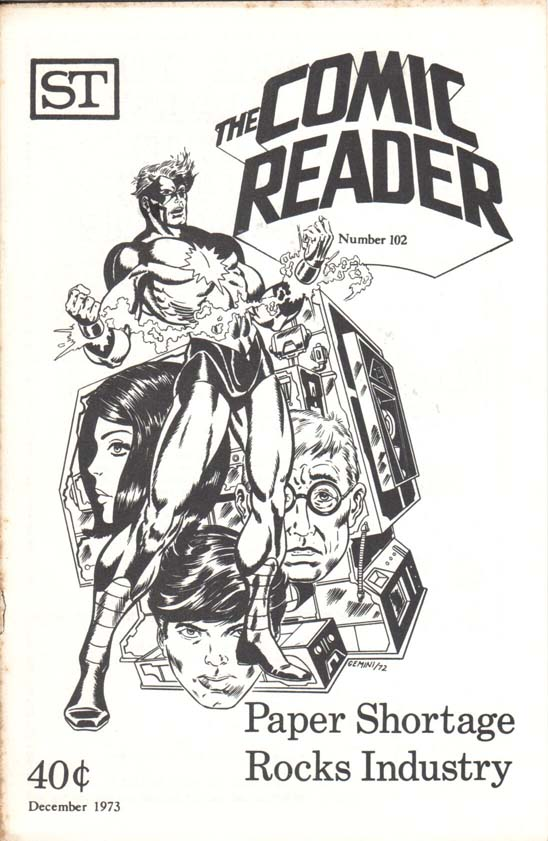 The Comic Reader (1961) #102