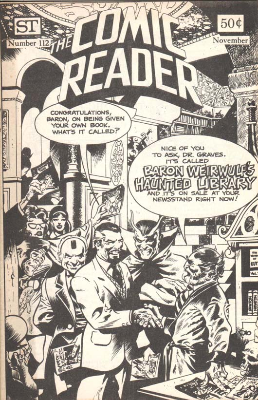 The Comic Reader (1961) #112