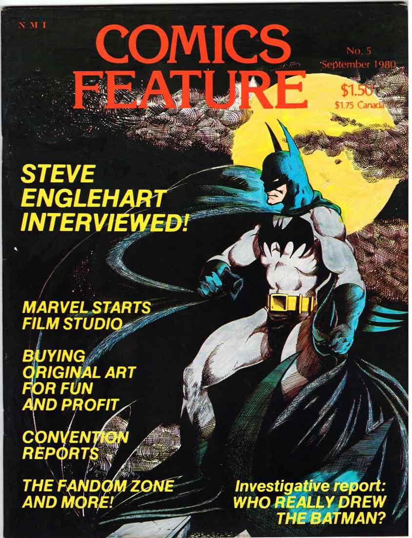 Comics Feature Magazine (1980) #5