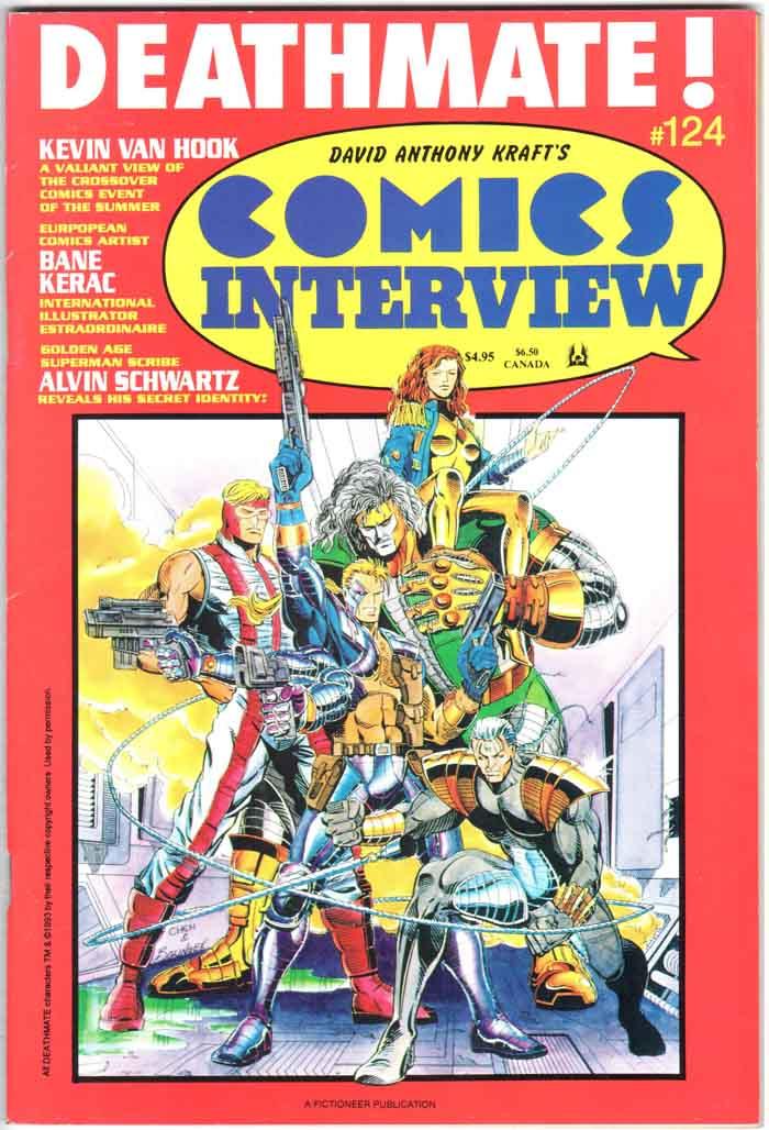 Comics Interview (1983) #124