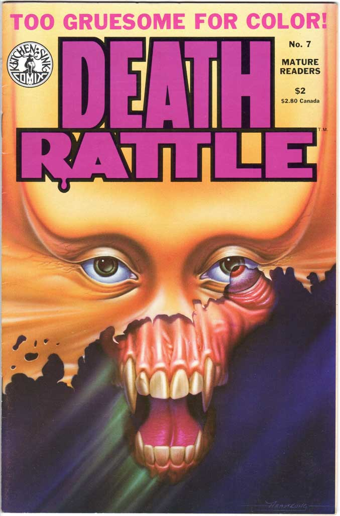 Death Rattle (1985) #7