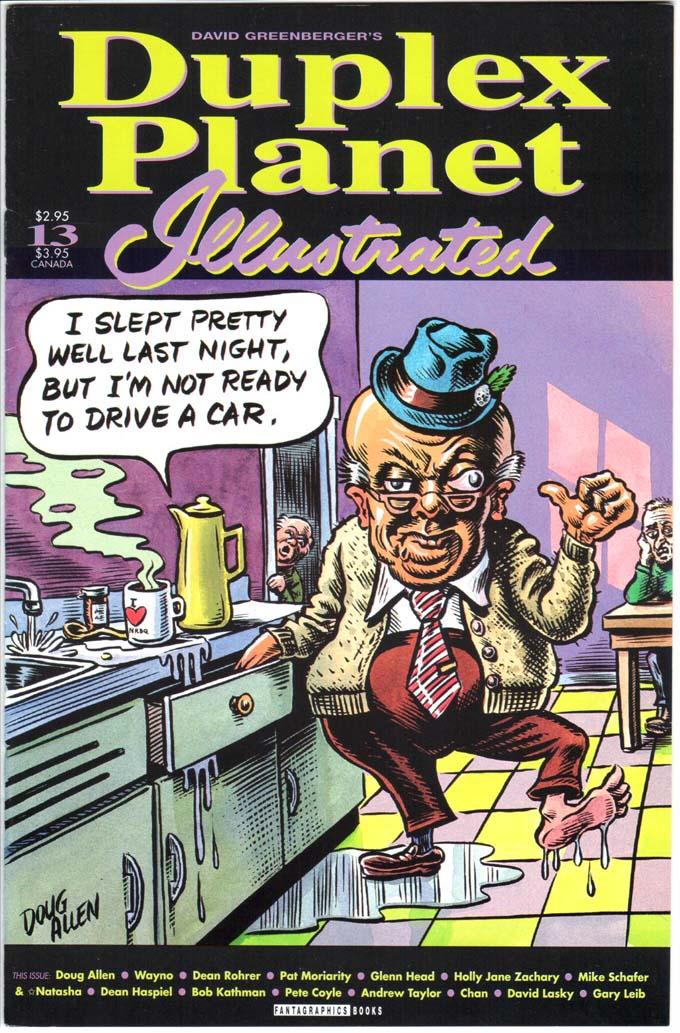 Duplex Planet Illustrated (1993) #13