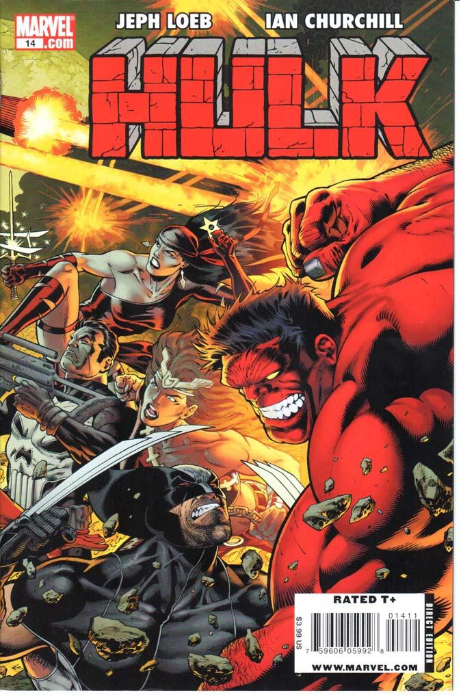 Hulk (2008) #14A