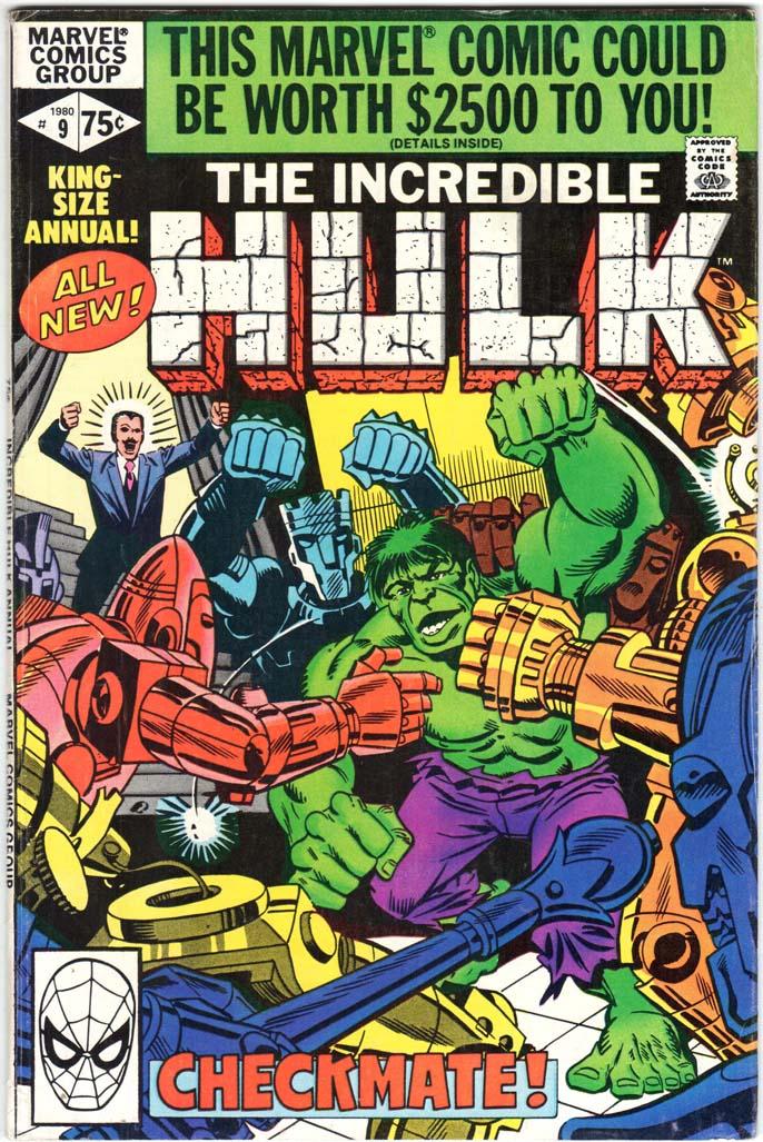 Incredible Hulk (1962) Annual #9