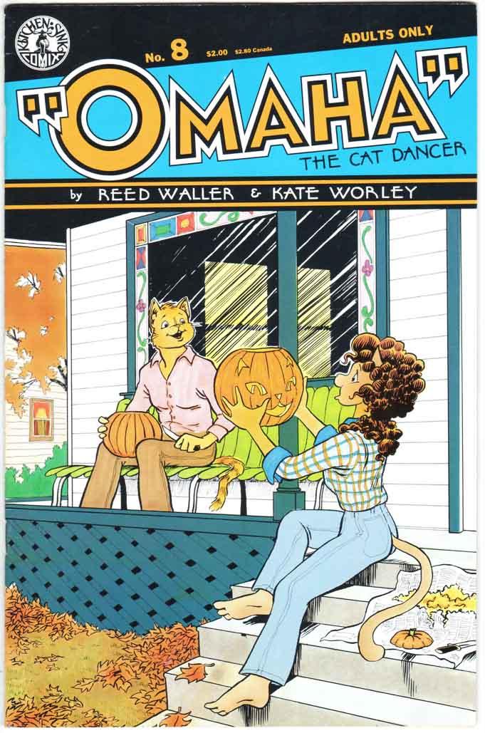 Omaha the Cat Dancer (1986 ) #8