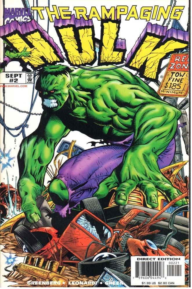 Rampaging Hulk (1998) #2B