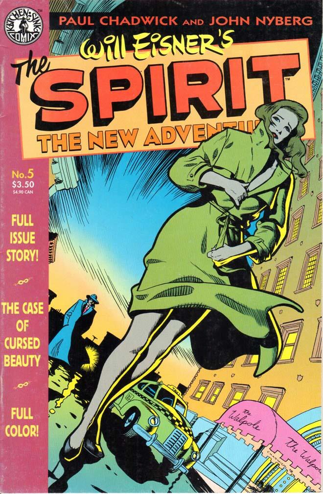 Spirit: New Adventures (1988) #5
