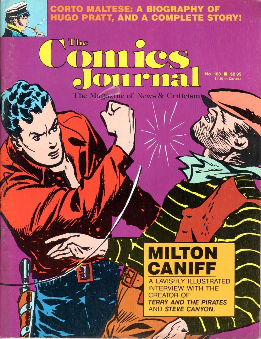 Comics Journal (1977) #108