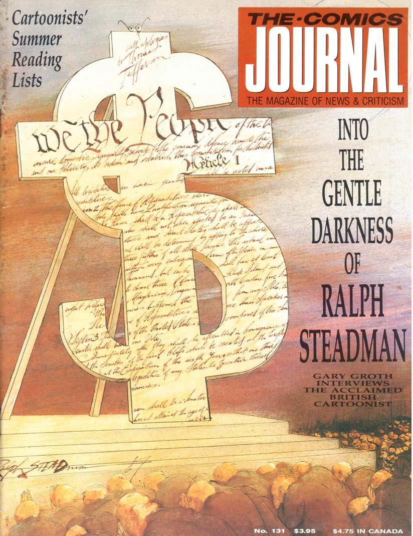 Comics Journal (1977) #131