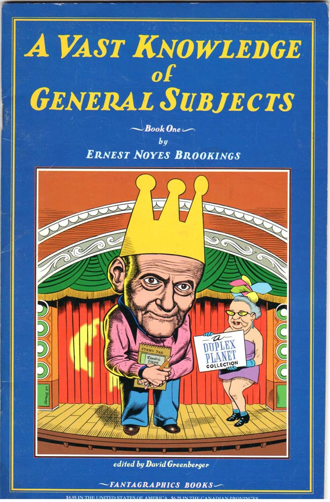 A Vast Knowledge of General Subjects (1994) #1