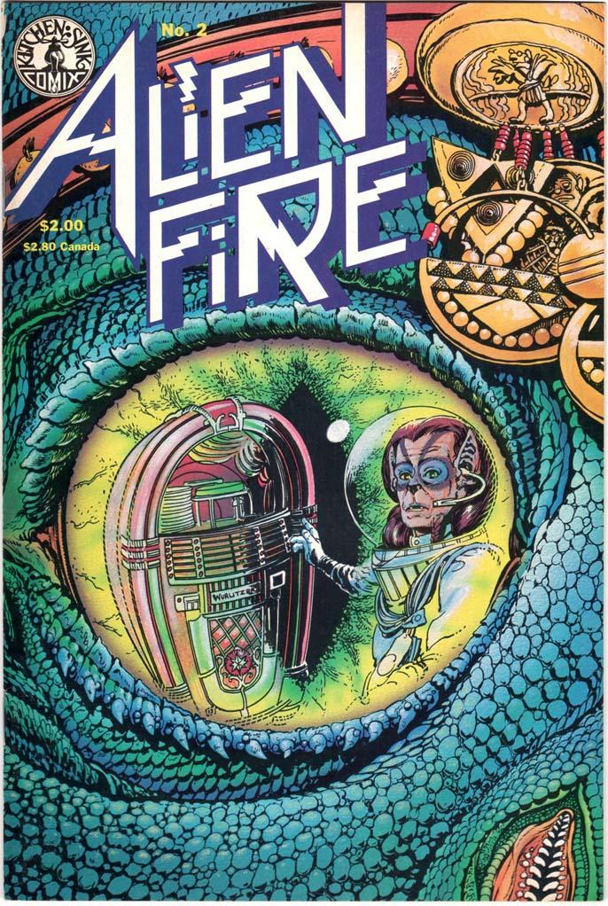 Alien Fire (1987) #2