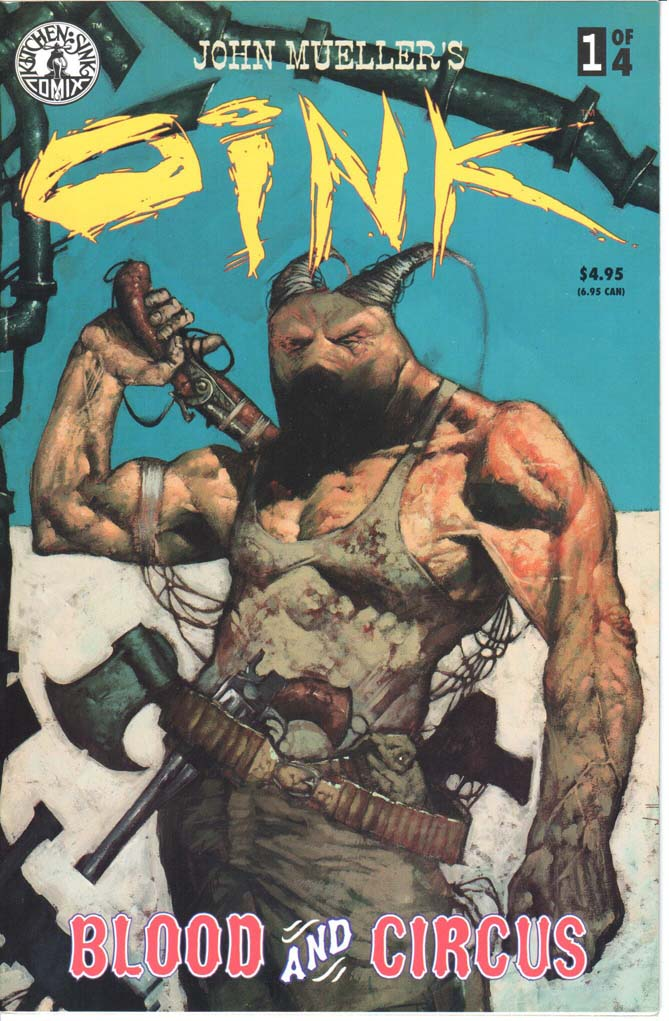 Oink Blood and Circus (1998) #1 – 4 (SET)