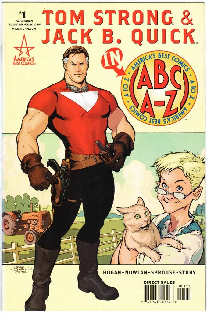 ABC A to Z: Tom Strong and Jack B Quick (2005) #1