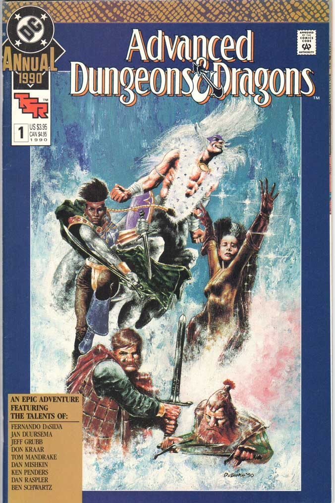 Advanced Dungeons & Dragons Annual (1990) #1