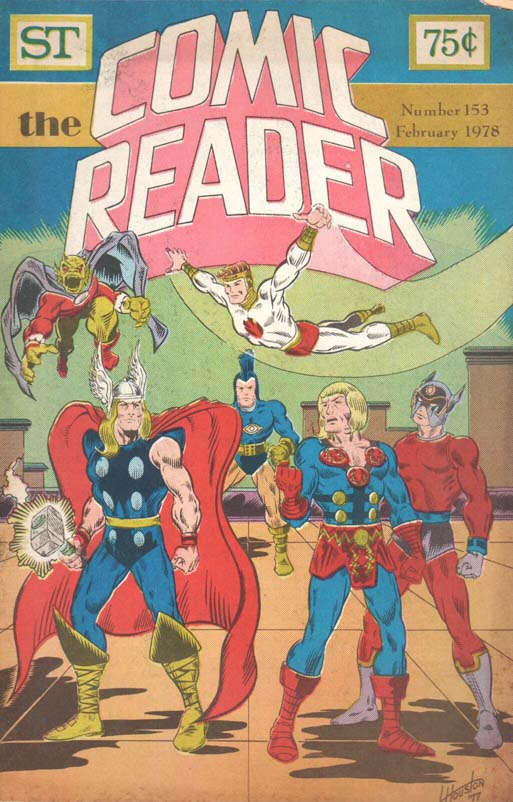 The Comic Reader (1961) #153