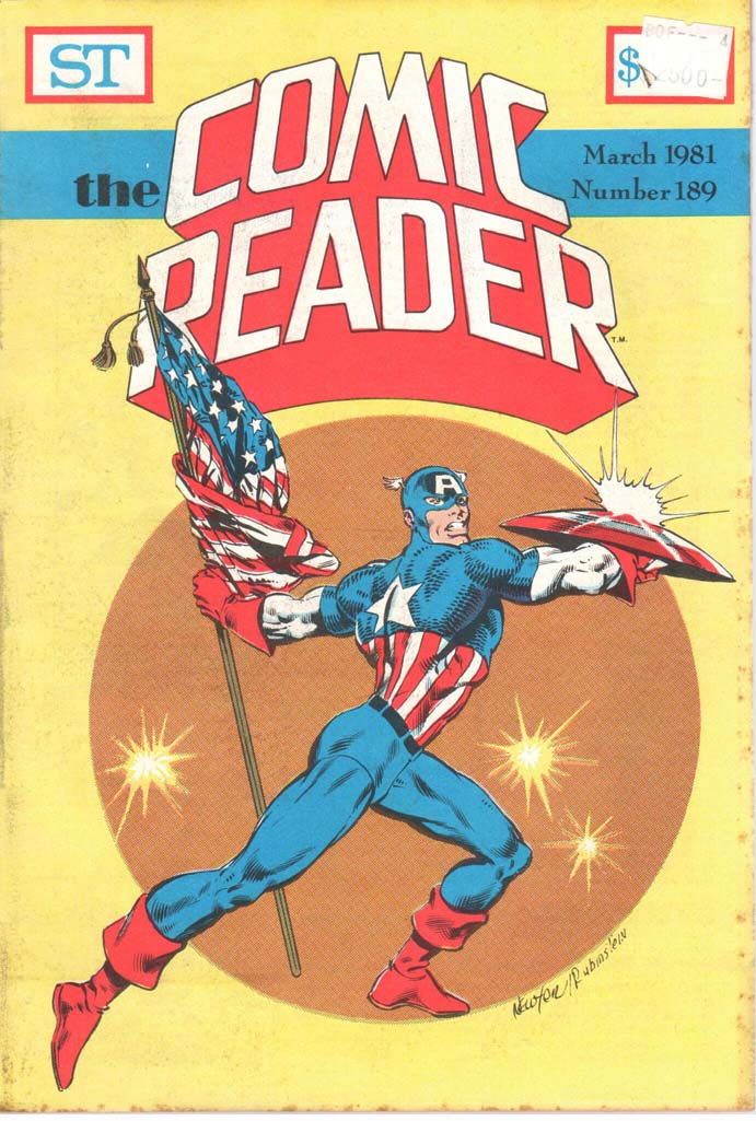 The Comic Reader (1961) #189
