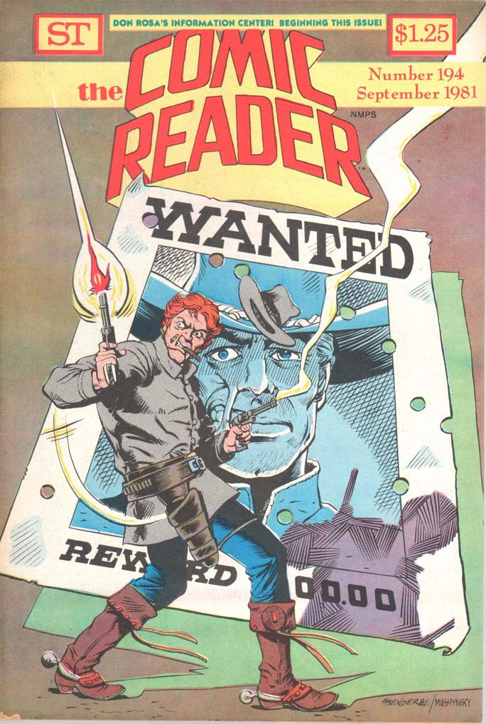 The Comic Reader (1961) #194