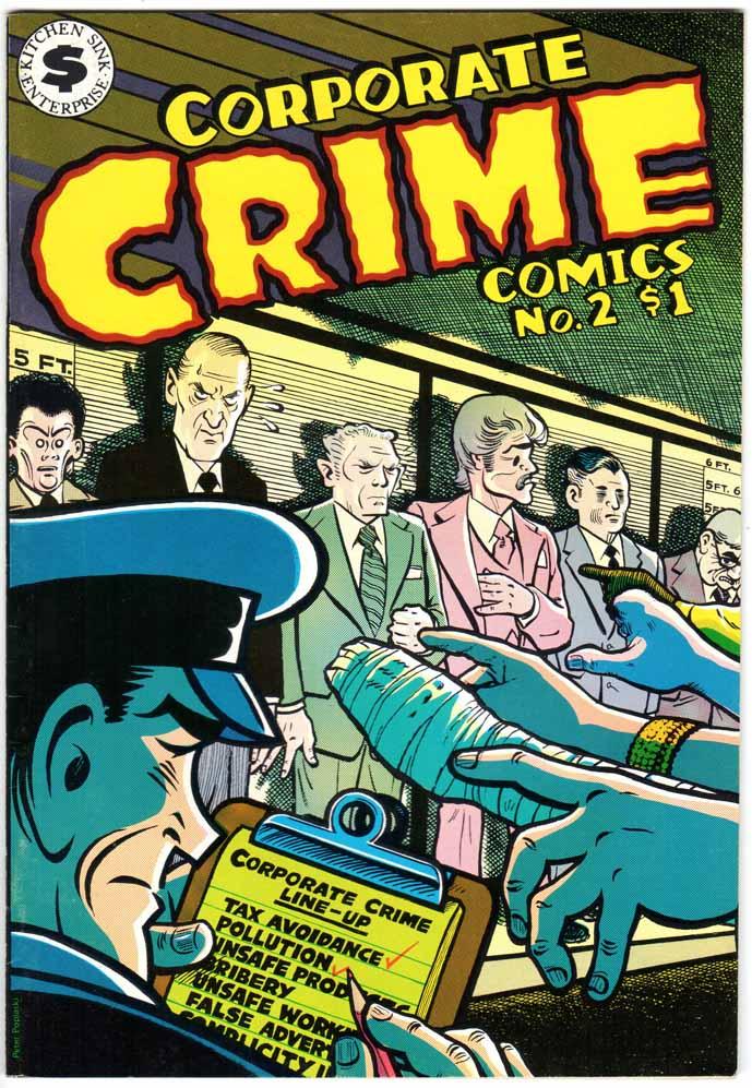 Corporate Crime Comics (1977) #2