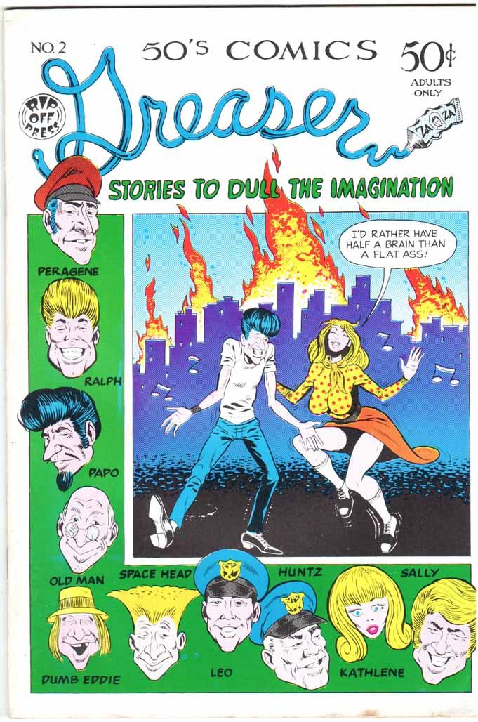 Greaser Comics (1971) #2