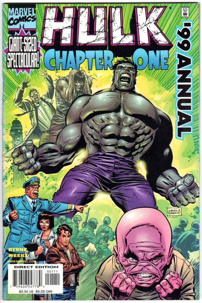 Incredible Hulk (1962) Annual #1999