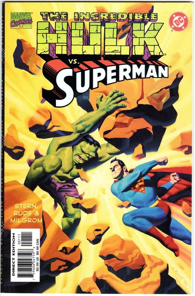 Incredible Hulk vs. Superman (1999) #1