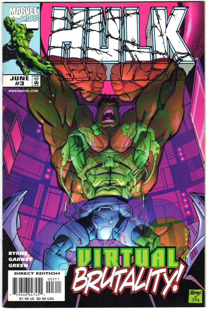 Incredible Hulk (1999) #3