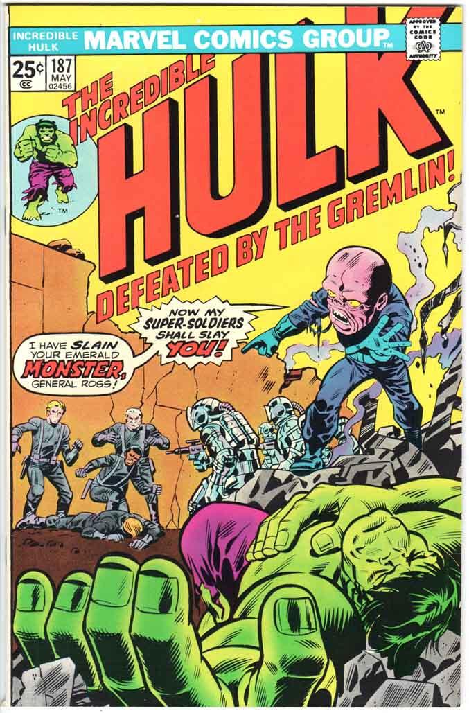 Incredible Hulk (1962) #187 MJ