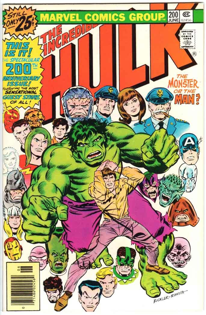Incredible Hulk (1962) #200 MJ