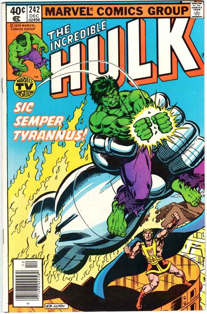 Incredible Hulk (1962) #242 MJ