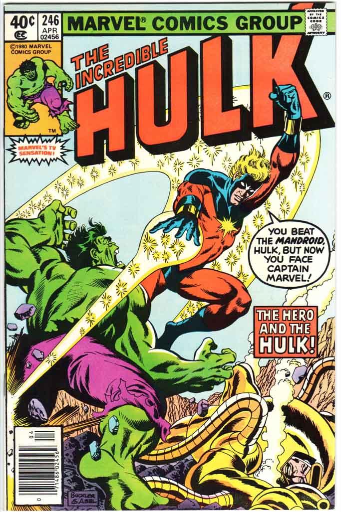 Incredible Hulk (1962) #246 MJ