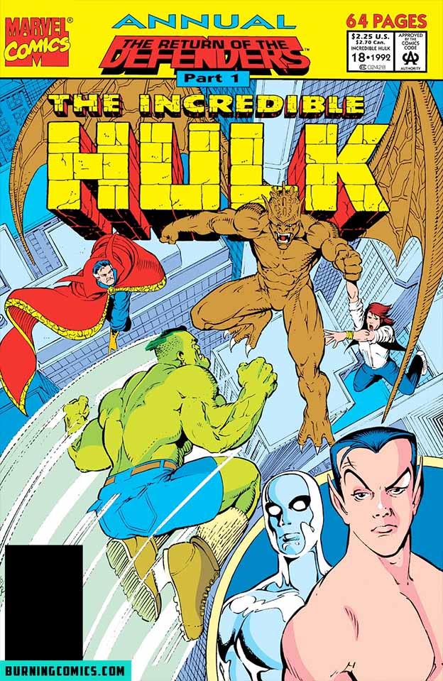 Incredible Hulk (1962) Annual #18
