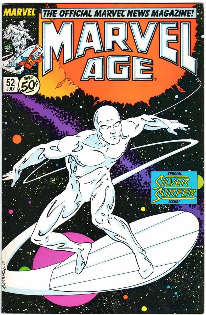 Marvel Age (1983) #52