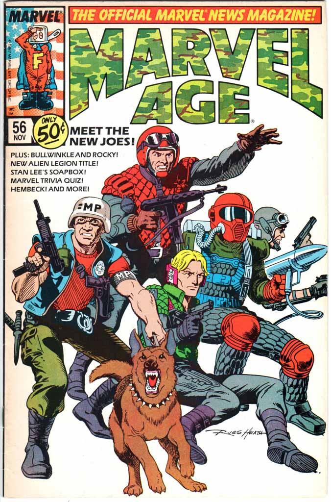 Marvel Age (1983) #56