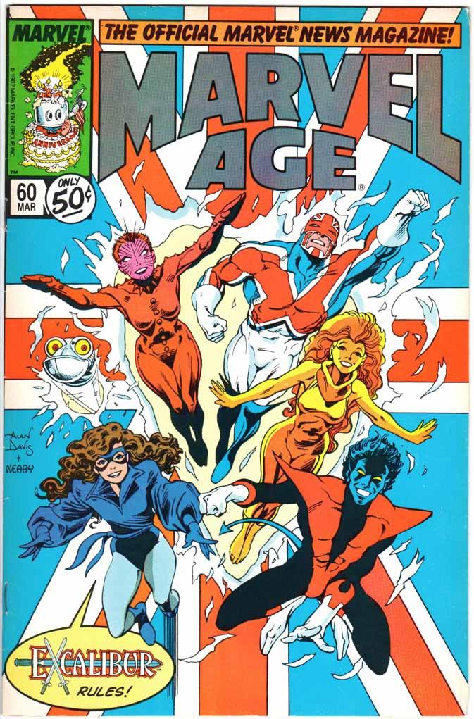 Marvel Age (1983) #60