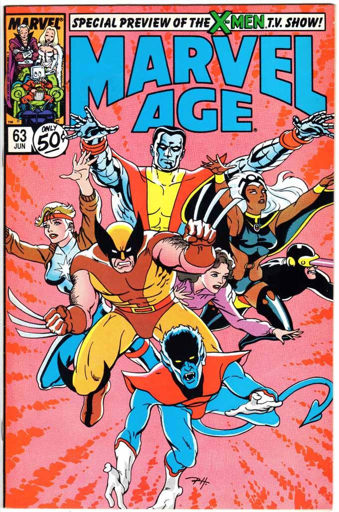 Marvel Age (1983) #63