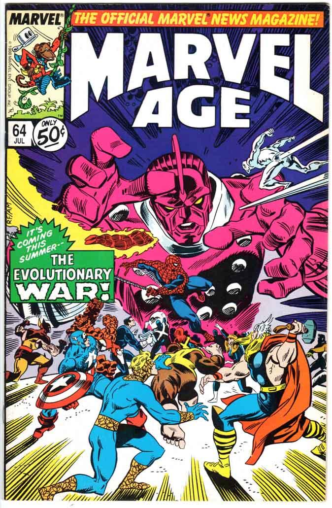 Marvel Age (1983) #64