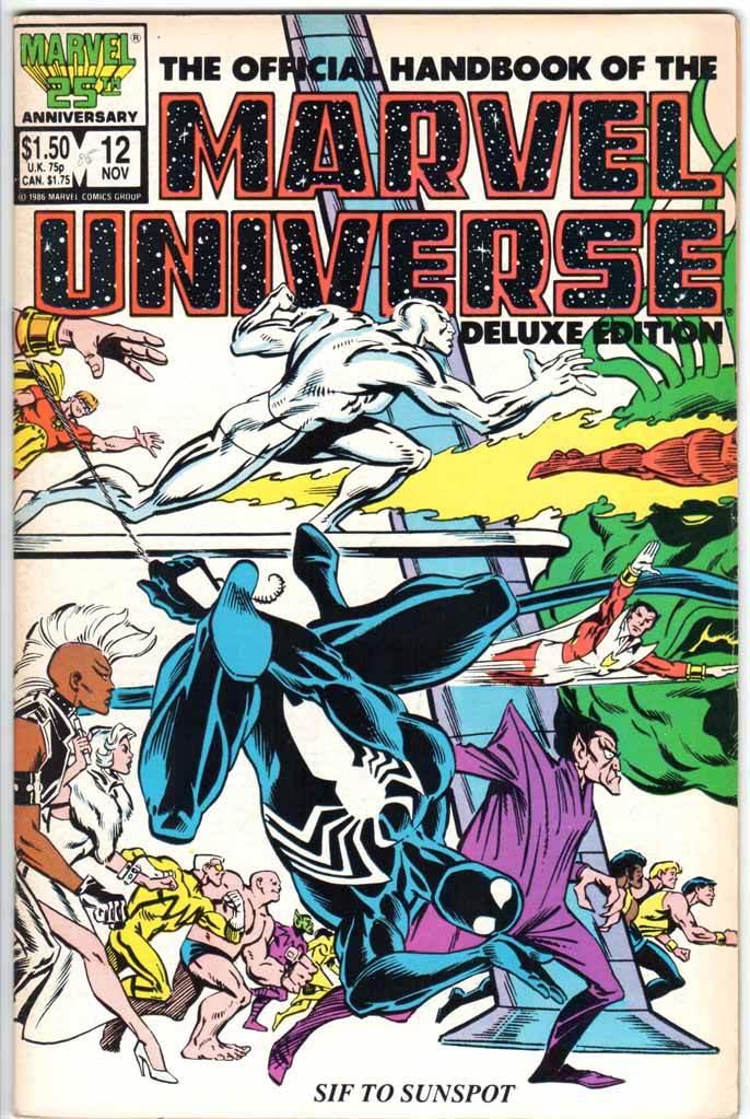 Official Handbook of the Marvel Universe Deluxe Edition (1985) #12