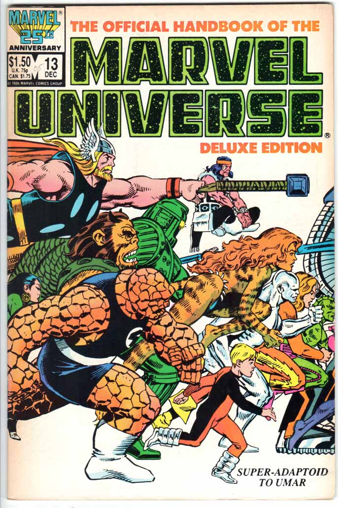 Official Handbook of the Marvel Universe Deluxe Edition (1985) #13