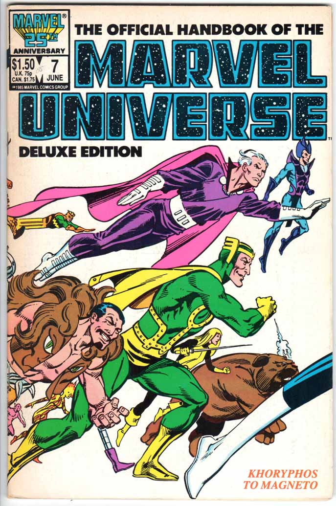 Official Handbook of the Marvel Universe Deluxe Edition (1985) #7
