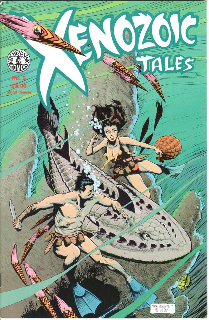 Xenozoic Tales (1987) #5